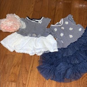 Adorable pair of dresses!